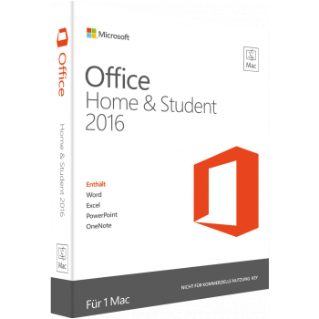 Microsoft Office por MAC Home kaj Student 2016