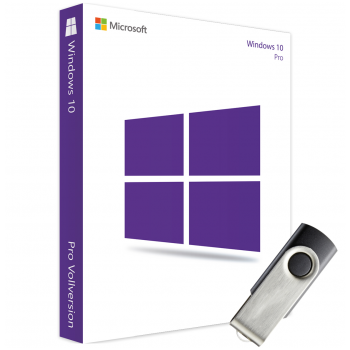 Microsoft Windows 10 Professional als een USB-stick