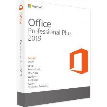 Microsoft Office Professional Plus 2019 for 2 PCs as a USB stick