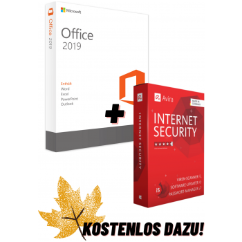 Office 2019 + Avira Internet Security Suite 2020 - now for free!