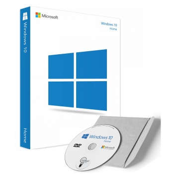 Microsoft Windows 10 Home als DVD